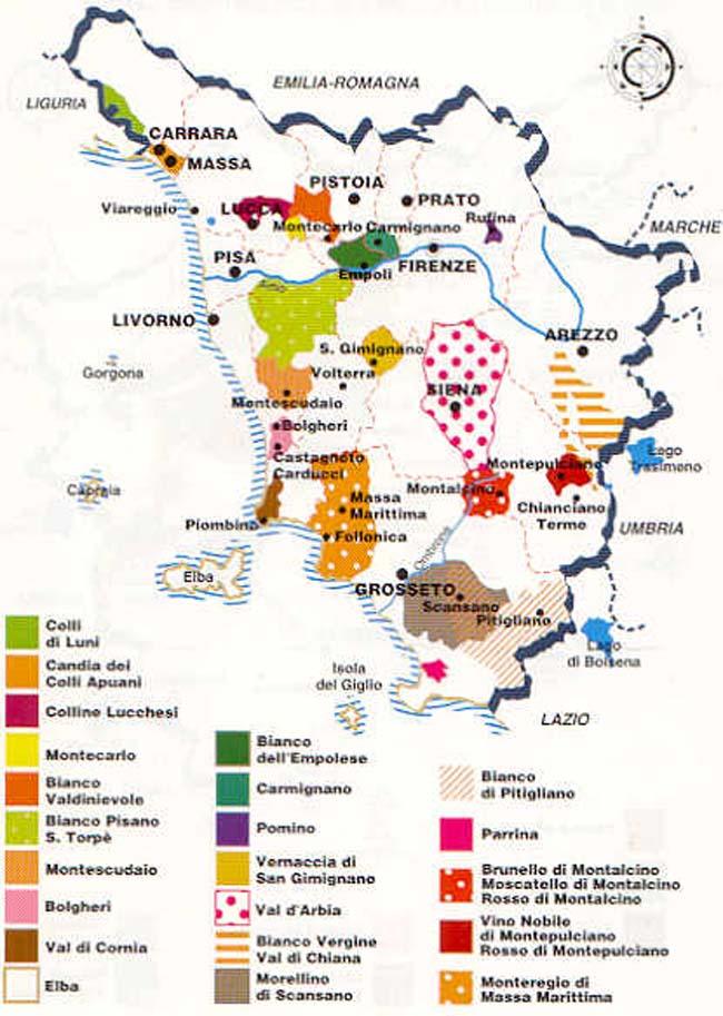 Assez Italie] - Les vignobles et caves de Toscane OZ11